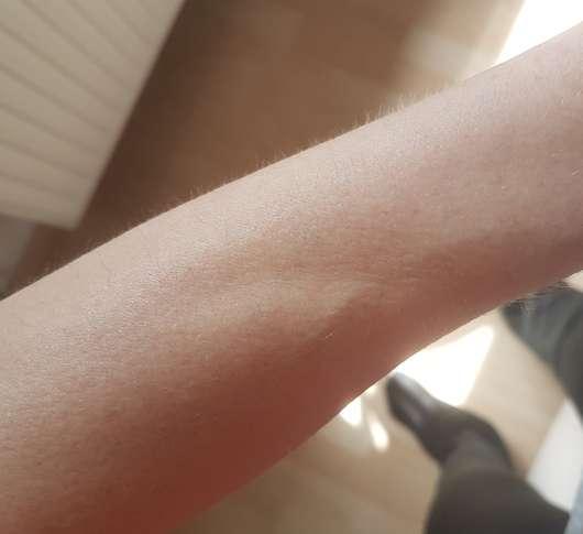 Haut nachdem die Lotion eingezogen ist - Speick SUN After Sun Lotion