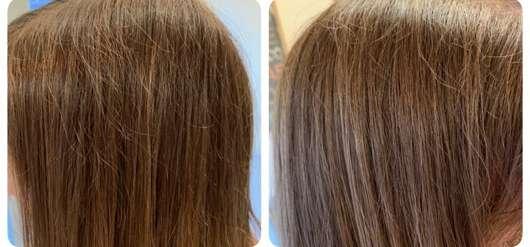 STRUCTURE by JOICO Boost Thickening Spray - Haare vorher/nachher