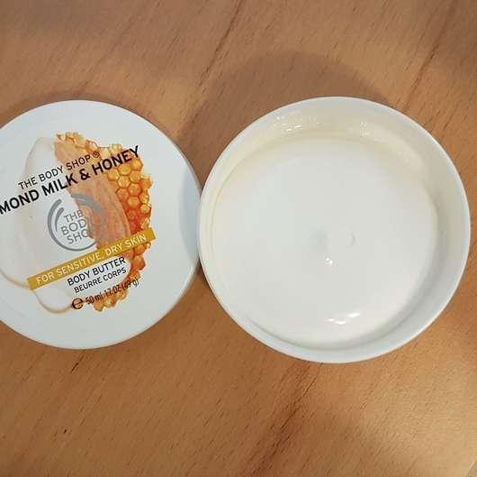 The Body Shop Almond Milk & Honey Body Butter - geöffnet