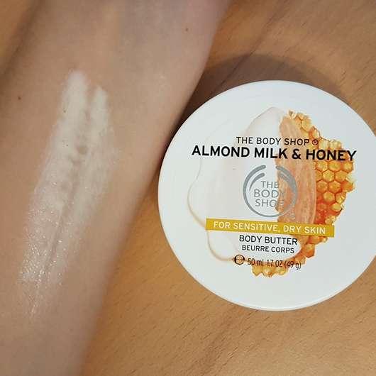 The Body Shop Almond Milk & Honey Body Butter - Konsistenz
