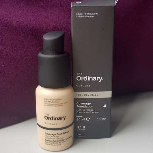 <strong>The Ordinary</strong> Coverage Foundation - Farbe: 1.1 N Fair Neutral