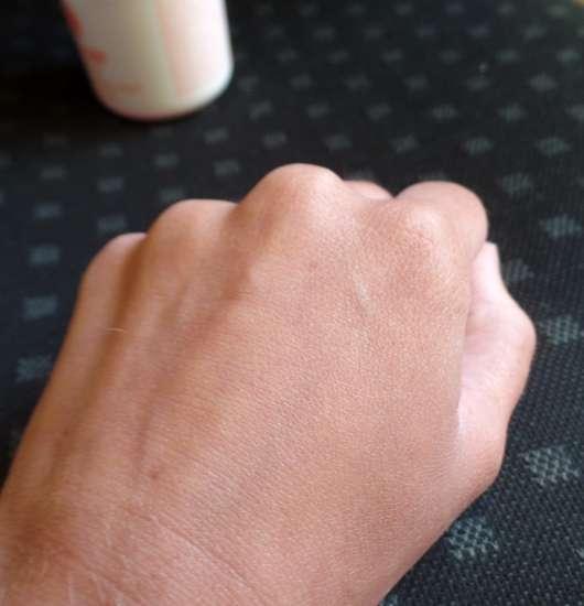 Bi-Oil Gel für trockene Haut - Haut vor der Testphase