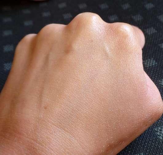 Bi-Oil Gel für trockene Haut - Haut nach der Testphase