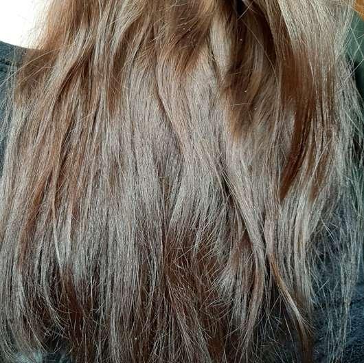 Dove Pflege Geheimnisse Detox Ritual Spülung - Haare vorher