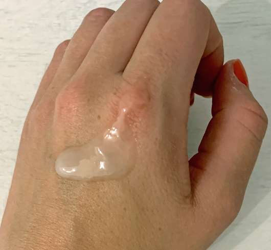 KORRES Yoghurt Duschgel - Konsistenz