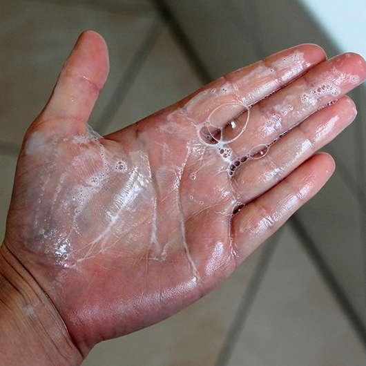 Monsavon Orangenblüte Dusche - Konsistenz aufgeschäumt