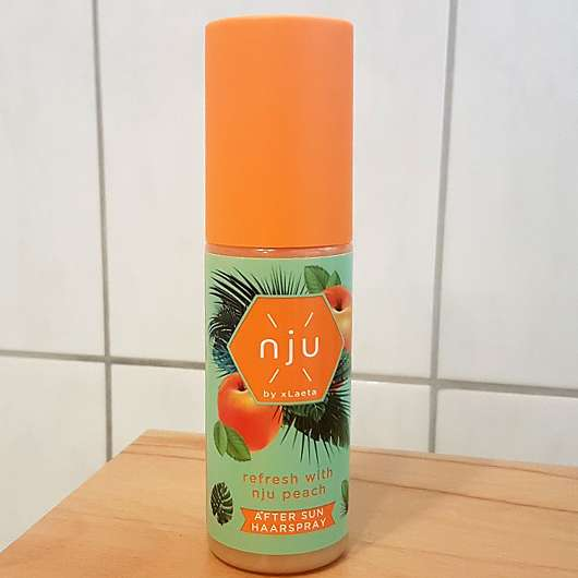 nju by xLaeta refresh with nju peach After Sun Haarspray (LE)