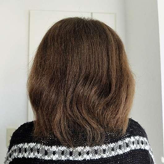 nju by xLaeta refresh with nju peach Shampoo (LE) - Haare vor der Anwendung