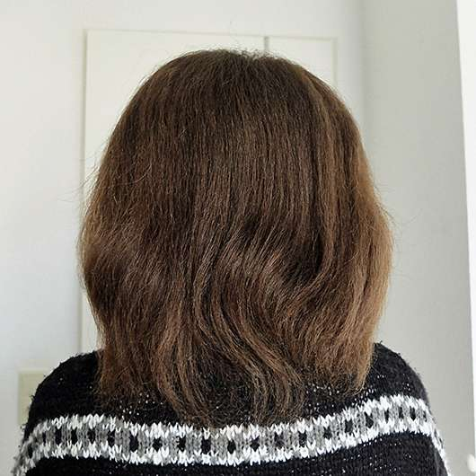nju by xLaeta refresh with nju peach Spülung (LE) - Haare vor der Anwendung
