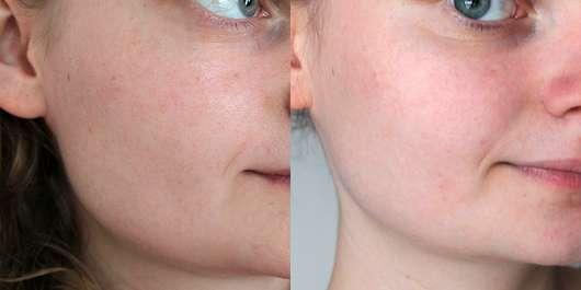 Origins Drink Up Intensive Overnight Hydrating Mask - Hautbild vor und nach 4 Wochen Testphase