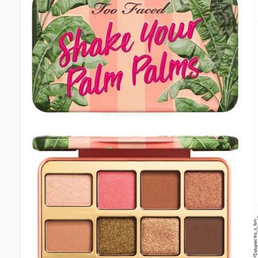 Too Faced Shake Your Palm Palms