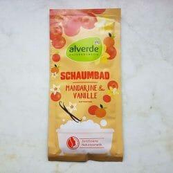 Produktbild zu alverde Naturkosmetik Schaumbad Mandarine & Vanille