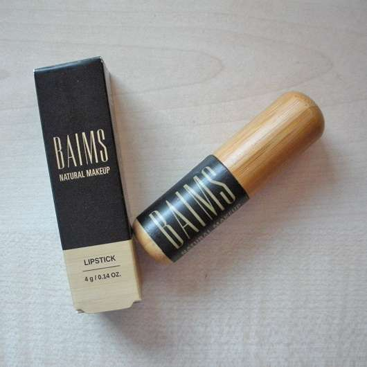 BAIMS Natural Makeup Lipstick, Farbe: 12 Glam