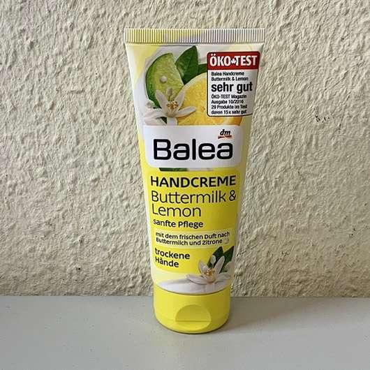 Balea Handcreme Buttermilk & Lemon