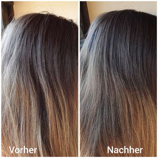 Balea Trockenshampoo Fruity Dreams - Haare ohne und mit Trockenshampoo