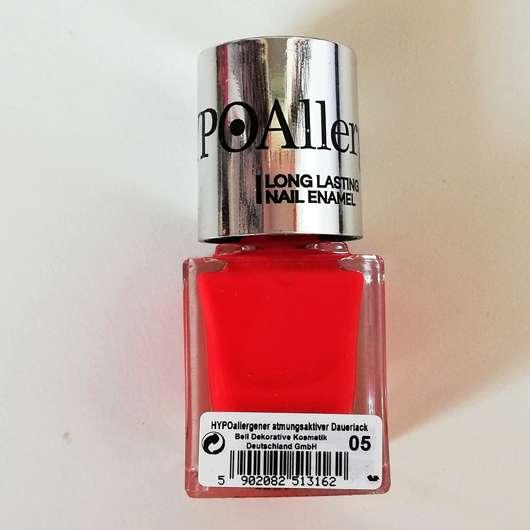 Bell HYPOAllergenic Long Lasting Nail Enamel, Farbe: 05 orange red