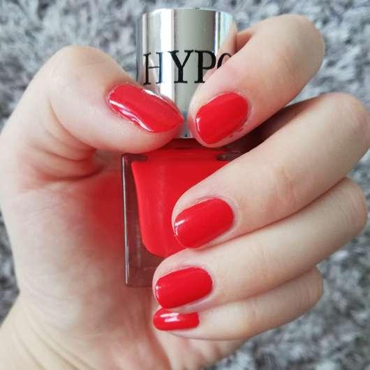 Bell HYPOAllergenic Long Lasting Nail Enamel, Farbe: 05 orange red - frisch lackierte Nägel