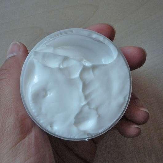 CD Feuchtigkeitscreme Wasserlilie - geöffneter Tiegel