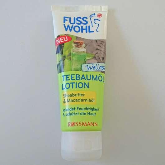 <strong>FUSSWOHL</strong> Teebaumöl Lotion Sheabutter & Macadamiaöl