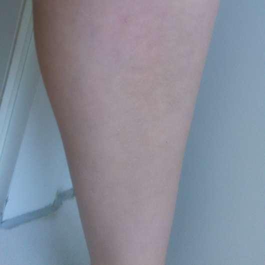 Haut vor dem Test - M. Asam Self Tanning Body Fluid