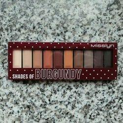Produktbild zu Misslyn Must-Have Eyeshadow Shades – Farbe: Shades Of Burgundy
