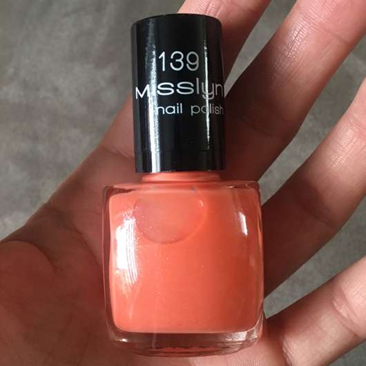 <strong>Misslyn</strong> Nail Polish - Farbe: 139 Just Be Free