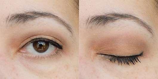 geschminktes Auge mit der Misslyn Must-Have Eyeshadow Shades, Farbe: Shades Of Burgundy