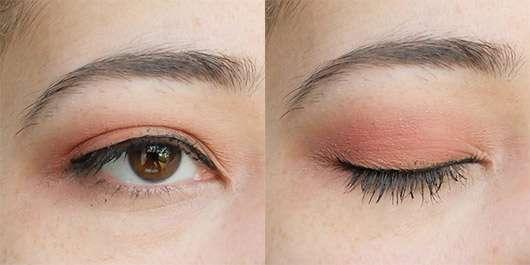 geschminktes Auge mit den Misslyn Must-Have Eyeshadow Shades, Farbe: Shades Of Burgundy