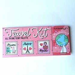 Produktbild zu Misslyn Travel Kit All In One Teint Palette – Farbe: Globetrotter (LE)