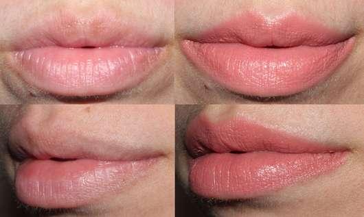 Sleek MakeUP Lip Dose Lipstick, Farbe: Say My Name - Collage vorher/nachher
