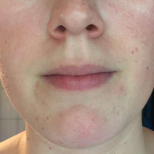 Haut zu Testbeginn - Yves Rocher Hydra Végétal Schützende Feuchtigkeitscreme LSF20