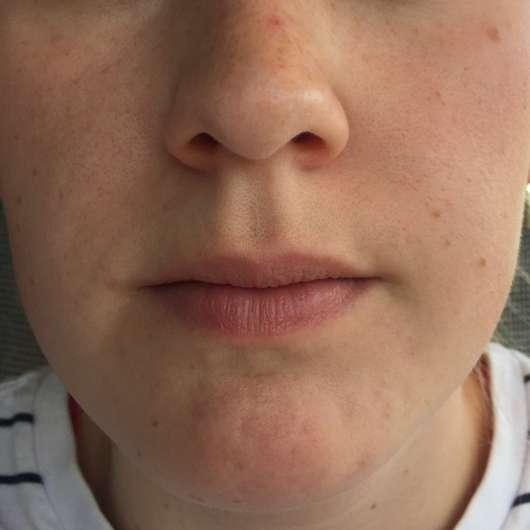 Haut nach 4-wöchigem Test - Yves Rocher Hydra Végétal Schützende Feuchtigkeitscreme LSF20
