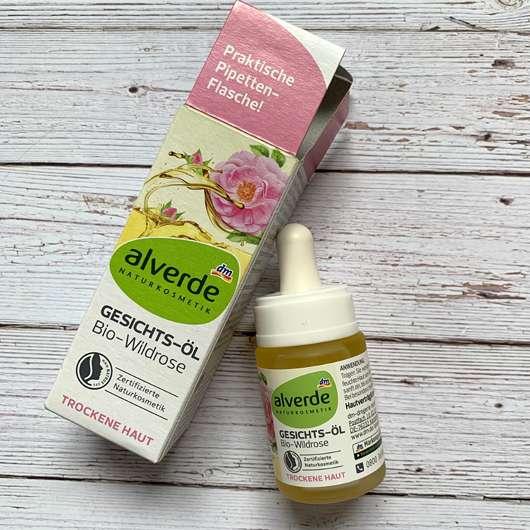 alverde Gesichtsöl Bio-Wildrose
