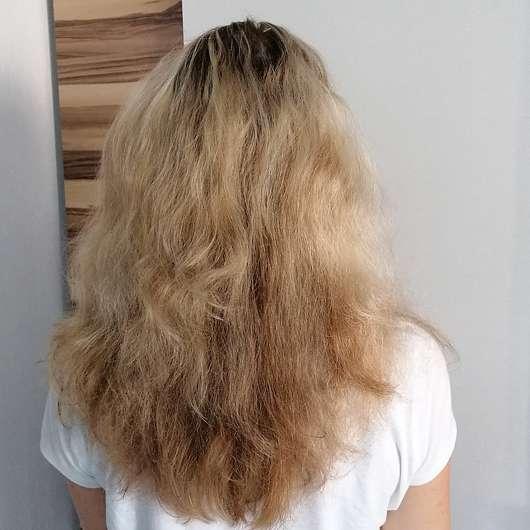 Bübchen Happy Berry Shampoo & Spülung - Haare vorher