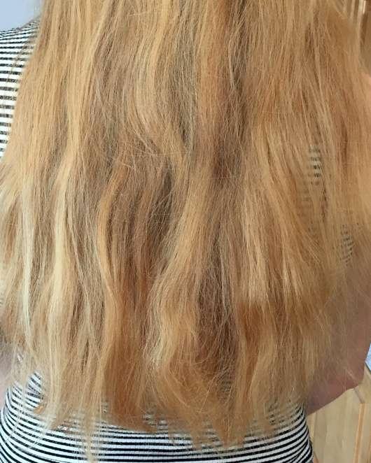 Bübchen Happy Berry Shampoo & Spülung - Haare vor der Anwendung