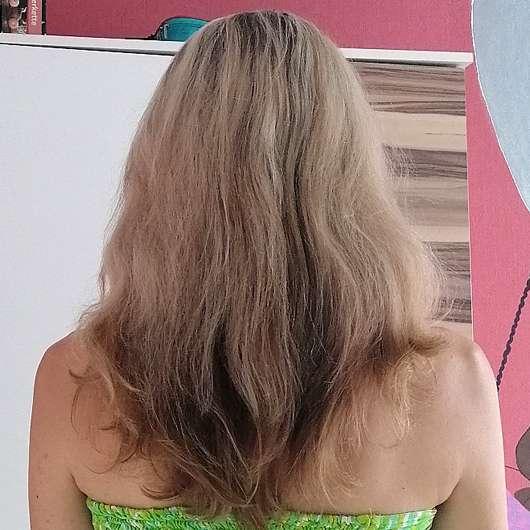 Bübchen Happy Berry Shampoo & Spülung - Haare nachher