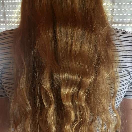 Bübchen Happy Berry Shampoo & Spülung - Haare nach der Anwendung