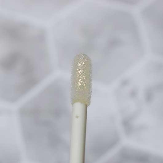 essence crystal wet look lipgloss, Farbe: 01 Bright Diamond - Applikator