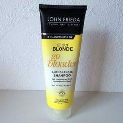 Produktbild zu JOHN FRIEDA® SHEER BLONDE Go Blonder Farb-Aufhellendes Shampoo