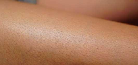 KORRES Jasmin Körpermilch - Haut nachdem die Creme eingezogen ist