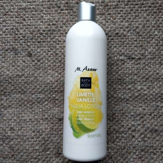 <strong>M. Asam</strong> Limette Vanille Aqua Lotion