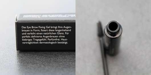 Make up Factory Eye Brow Fixing Gel, Farbe: 01 Transparent (LE) - Beschreibung und Öffnung