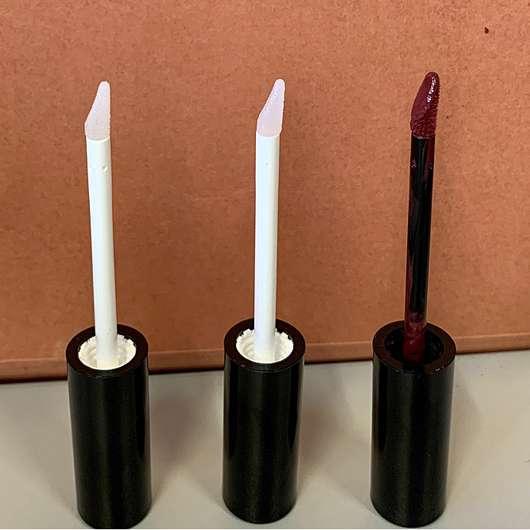 Mary Kay Ultra Stay Lip Lacquer Kit, Farbe: Plum (LE) - alle drei Applikatoren