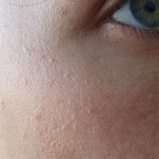 Yves Rocher Anti-Age Global La Supra Essence Correctrice - Augenbereich nach der Testphase