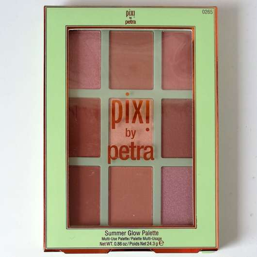 Pixi Summer Glow Palette, Farbe: Sheer Sunshine