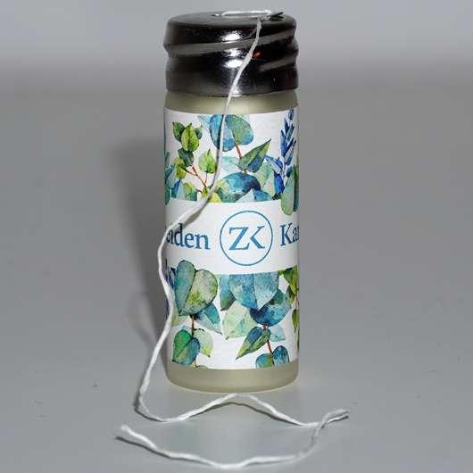 Zahnseidenkampagne PLA Premium Zahnseide mit Candelilla Wachs und Ingwer-Minz Aroma - Seide