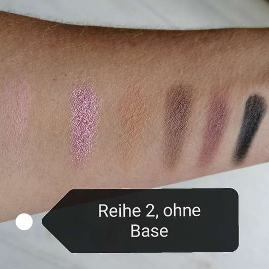 Swatches - Sleek MakeUP i-Divine Mineral Based Eyeshadow Palette, Farbe: Oh So Special