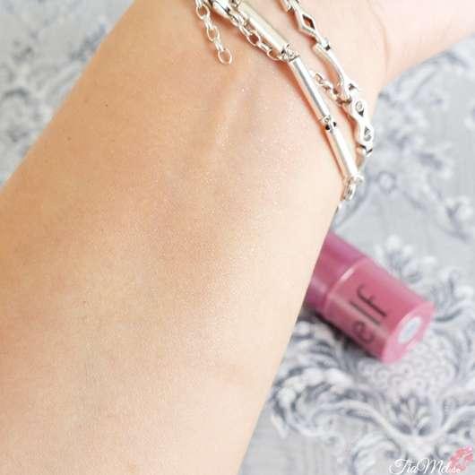 e.l.f. Cosmetics Monochromatic Multi-Stick, Farbe: Sparkling Rose - Swatches verblendet