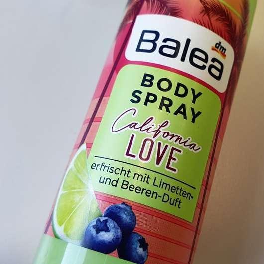 Balea Bodyspray California Love (LE) - Details