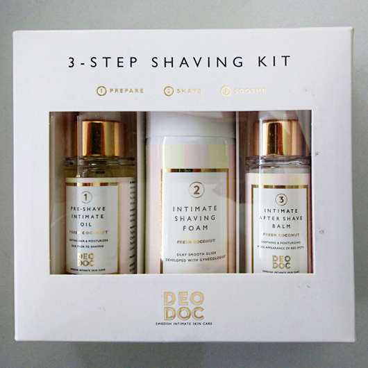 <strong>DeoDoc</strong> 3 Step Shaving Kit